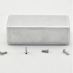 box in alluminio per pedali 11 x 5,7 x 3 cm 1590b