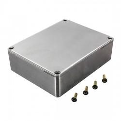 box in alluminio per pedali 120 X 93 35 CM con viti 1590BB