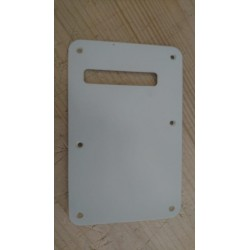 Fender Backplate White Used 1ply Vintage reissue