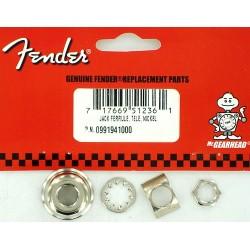 Fender Jack Plate per Telecaster Chrome 0991941000