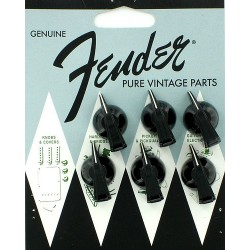 Fender manopole per Amplificatore vintage Chicken Head Black set. 6