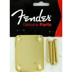 Fender Neckplate Gold Stratocaster Telecaster 0991447200