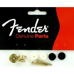 Fender Strap buttons Vintage gold 0018916049