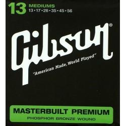 Gibson Corde Masterbuilt 13-56  light Chitarra Acustica phosphor bronze