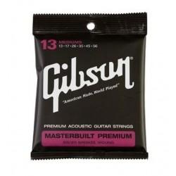 Gibson masterbuilt 80/20 13-56 corde chitarra acustica