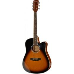 Harley Benton D-120CE VS chitarra acustica disponibile in 7gg