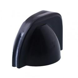 Manopolina chicken head nera per pedali 11x22 mm