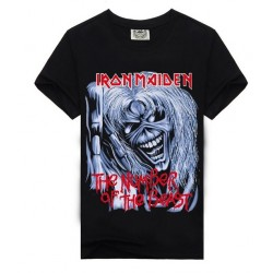 T-shirt maglietta IRON MAIDEN THE NUMBER OF THE BEAST XL