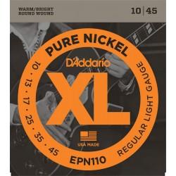 d'Addario EPN110 corde chitarra in nickel 10-45
