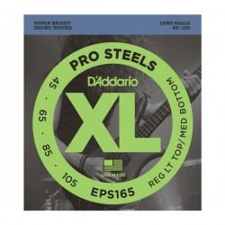 D'Addario EPS 165 prosteels corde per basso 45-105