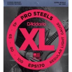 D'Addario EPS 170 prosteels  muta per basso 4 corde 45-100