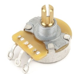 Fender CTS potenziometro 1 mega audio split shaft 0054032049