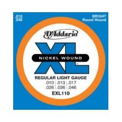 D'addario EXL110 10-46 Regular Light