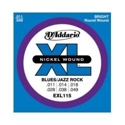 D'addario EXL115 11-49 Blues/Jazz Rock